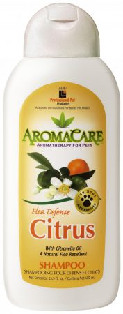 PPP AromaCare™ Citrus Flea Defense Shampoo, 13.5 oz. (400 mL)