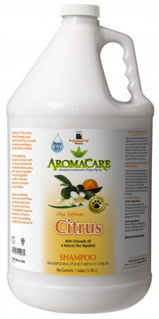 PPP AromaCare™ Citrus Flea Defense Sampon, 1 gal.  (3.785 L) Keverési arány 12-1