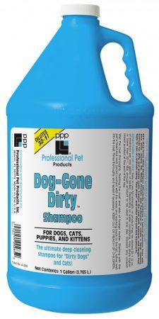 PPP Dog-Gone Dirty™ Sampon, 1 gal.  (3.785 L) Keverési arány 32-1