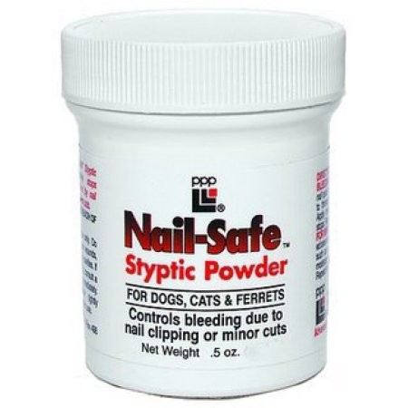 PPP Nail-Safe™ Styptic Powder, Vérzéscsillapító .5 oz. (14 g)