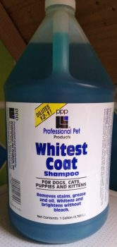 PPP Whitest Coat™ Shampoo, 1 gal.  (3.785 L) Dilutes 12-1
